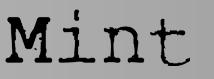 Mint Frisør